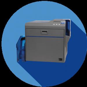 Datacard_SR200_blue